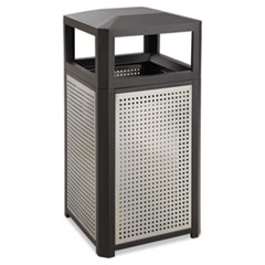Evos Series Steel Waste Container 15gal