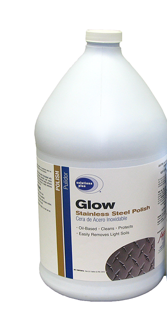 Glow Stainless Steel Cleaner/Polish Gal (4/cs)