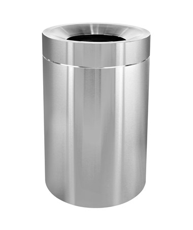 50 Gal Stainless Steel Indoor  Trash Can