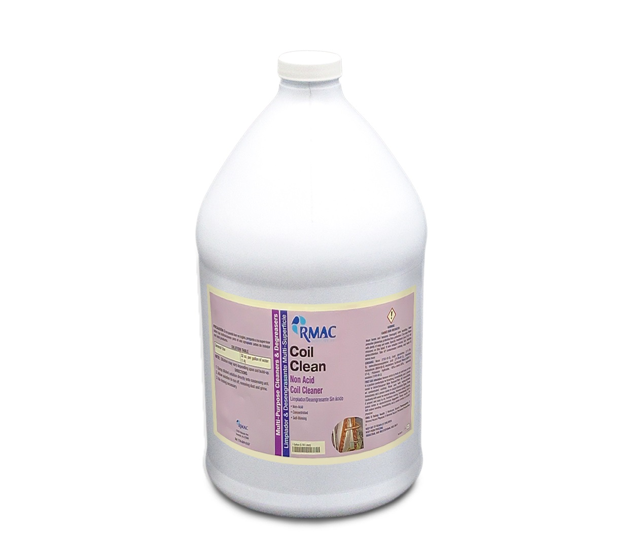 Coil Clean Non-acid Coil Cleaner 4/1 Gal (4/cs)