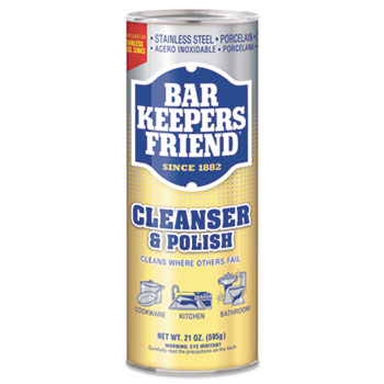 Bar Keepers Friend Cleanser 21 Oz (12/cs)