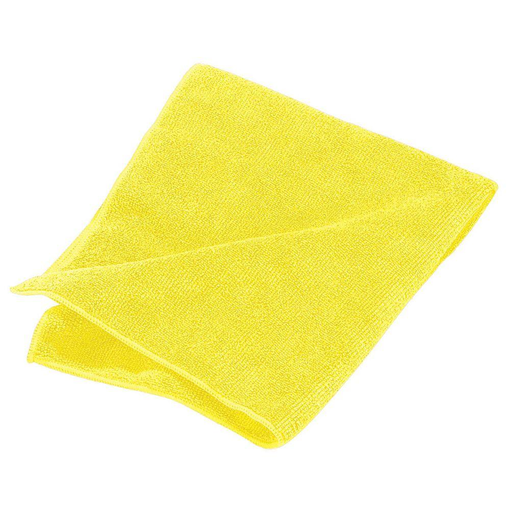 Yellow Microfiber Cleaning Cloth 24 (24/pk)