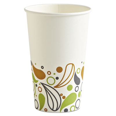 Deerfield Printed Paper Hot Cups 16 oz (1000/cs)