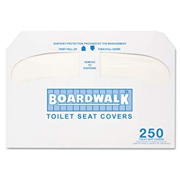 Seat Cover 1/2 Fold 250 Pack (20/cs)