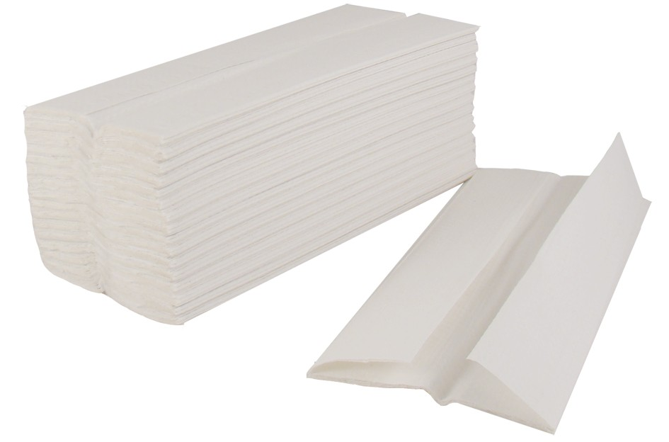 White C-fold Hand Towel (16/cs)