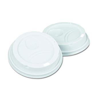10-20 Oz White Dome Lid For Paper Hot Cup (1000/cs)