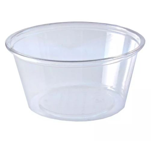 4 Oz Clear Portion Cup 2500/cs (2500/cs)