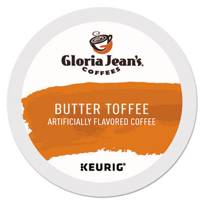 Butter Toffee Coffee K-cups, 24/box (24/bx)