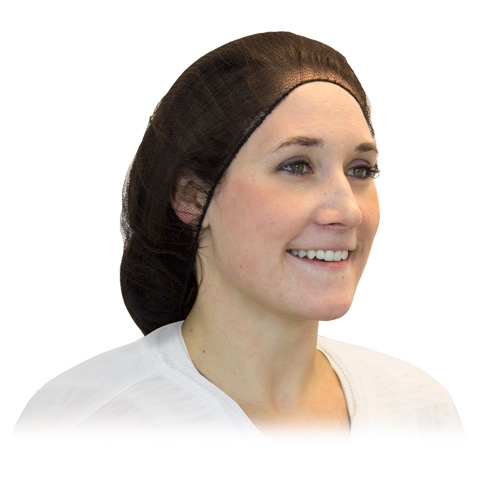 21 H/w Brown Polyester Hairnet 10/100 (1000/cs)