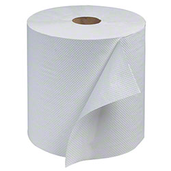 White Roll Towel 800' (6/cs)