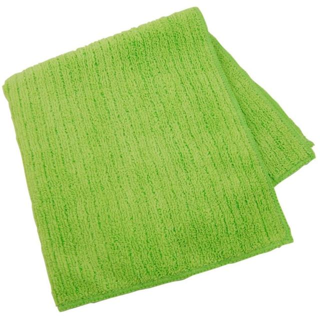 Microfiber Cleaning Cloth Green (12/dz)