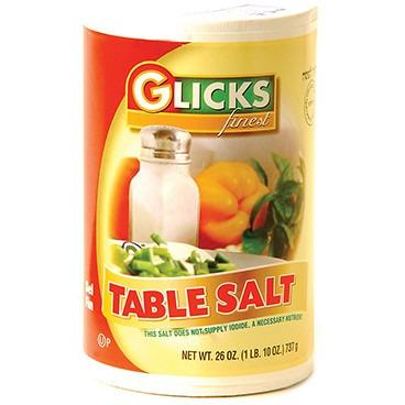 Glicks Table Salt 24/cs (24/cs)