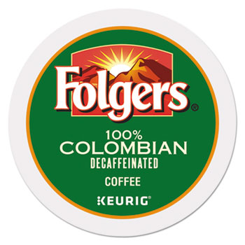 Folgers Colombian Decaf Coffee K-cups 24/bx (24/bx)
