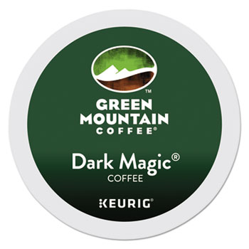 Green Mountain Dark Magic Extra Bol Coffee K Cups 24/bx