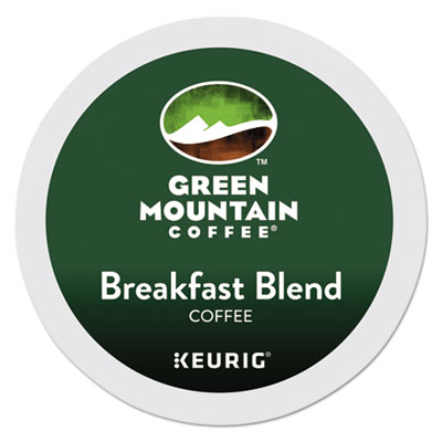 Green Mountain Breakfast Blend Coffee K-cups 24/bx