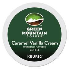Green Mountain Caramel Vanilla Crea Coffee K Cups
