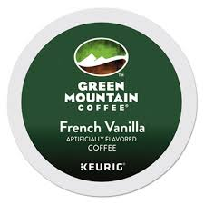 Green Mountain French Vanilla Coffe K-cups 24/bx (24/bx)