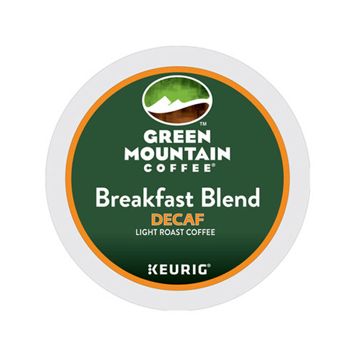 Green Mountain Breakfast Blens Decaf Coffee K-cup