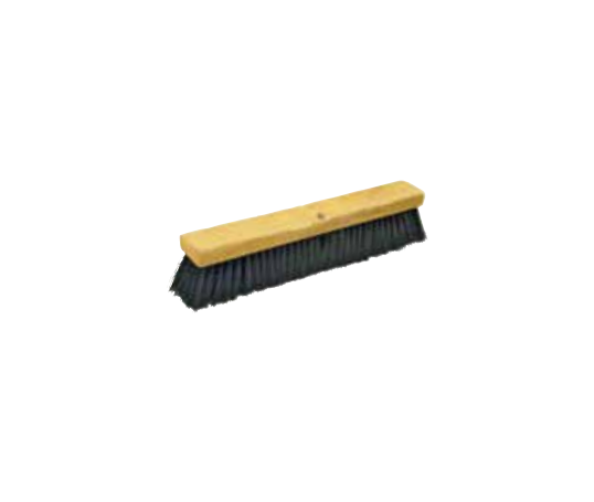 24 Plastic Bristle Push Broom (1/ea)
