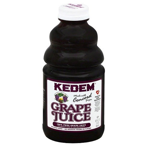 Kedem Concord Grape Juice 32 Oz. (12/cs)