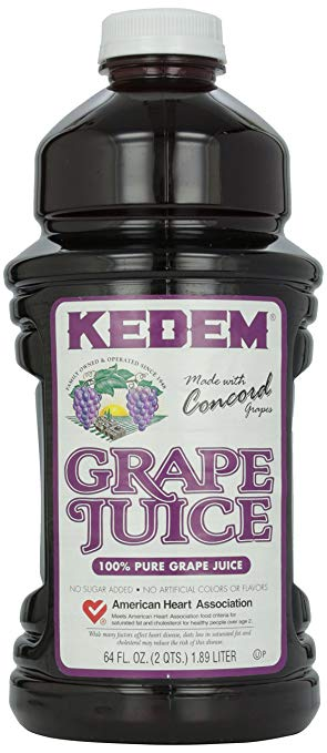 Kedem Concord Grape Juice 64 Oz. (8/cs)