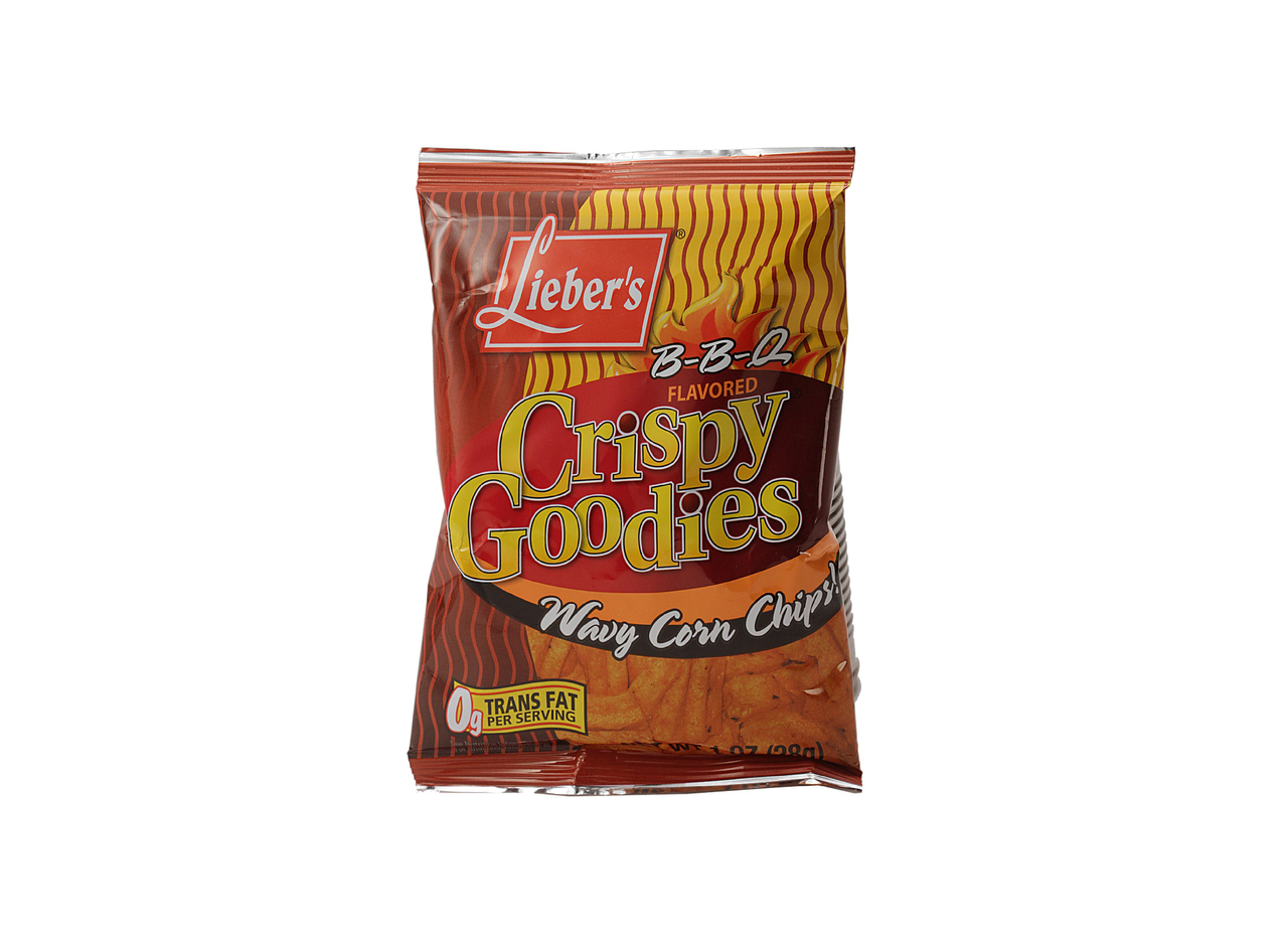 Liebers BBQ Crispy Goodies 1 Oz. (48/cs)