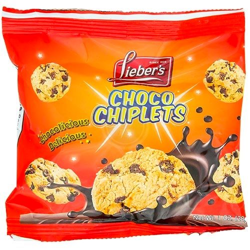 Mini Choc Chiplets Cookies Bag (60/cs)