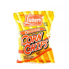 Lieber Plain Corn Chips 48/cs (48/cs)