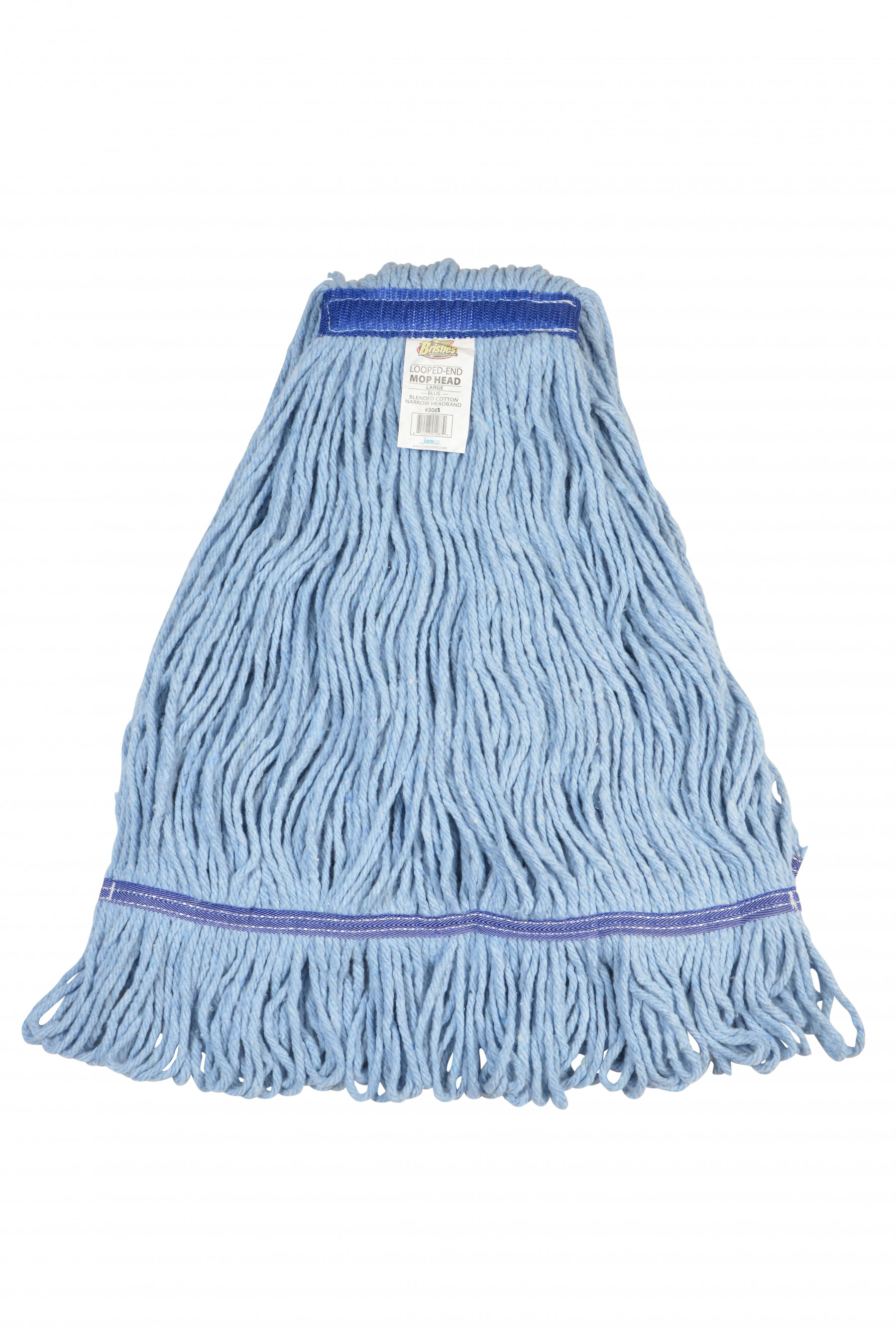 Blue Looped End Mop Head -  Medium (12/cs)
