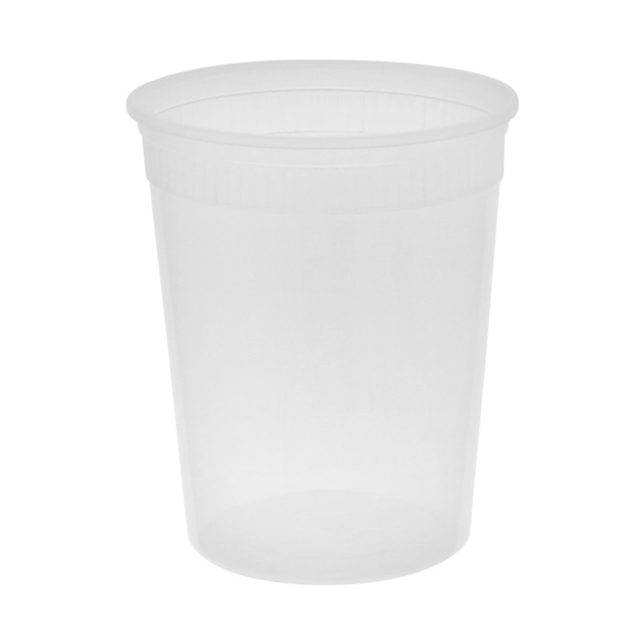 32 Oz Clear Deli Containers No  Lids (480/cs)