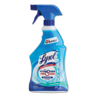 Lysol Power & Free Bathroom Cleaner (12/cs)