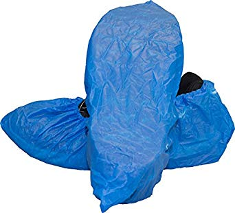 Blue Polyethylene Cpe Shoe Cover (300/cs)