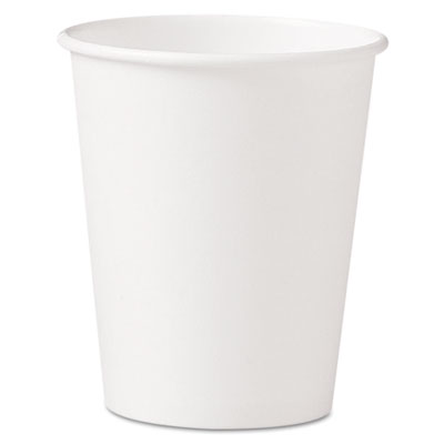 10 Oz Paper Hot Cup White  (1000/cs)